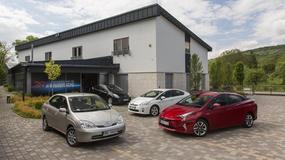 10 mln samochodów hybrydowych Toyoty