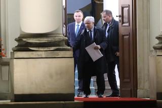 Prezydent i prezes PiS rozmawiali o aneksie WSI. Zgadzają się, że nie ma potrzeby go ujawniać