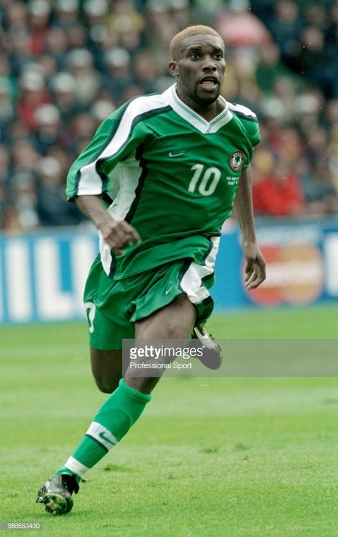 Ja Jay Okocha [Professional Sport Popperfoto Getty Images]
