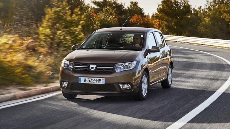 Dacia Sandero po liftingu