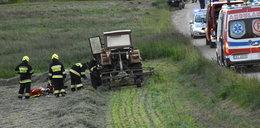 2-latek wypadł z ciągnika wprost pod koła. Przekazano tragiczne wieści