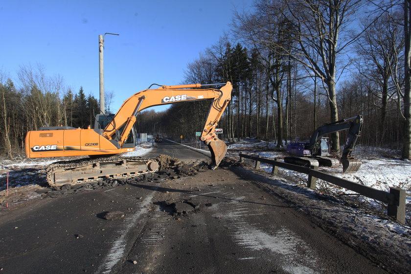 Ruszyła budowa obwodnicy Kartuz. Kierowcy muszą się liczyć z utrudnieniami w ruchu