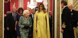 Żona Trumpa skradła show królowej. Nawet Agata Duda nie mogła oderwać od niej wzroku!