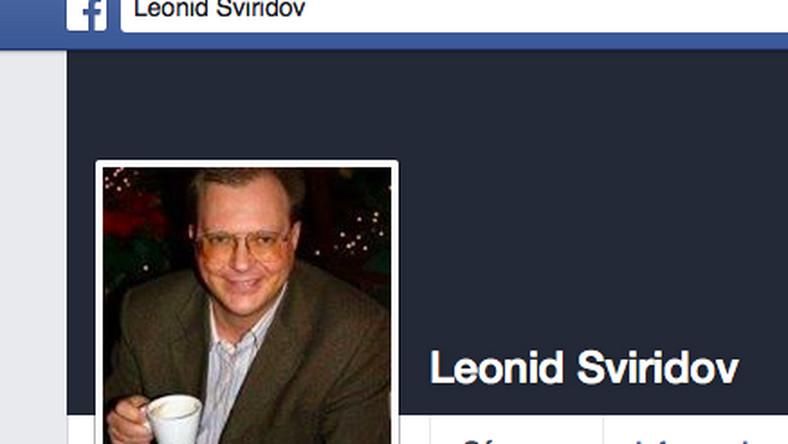 Leonid Swiridow na Facebooku