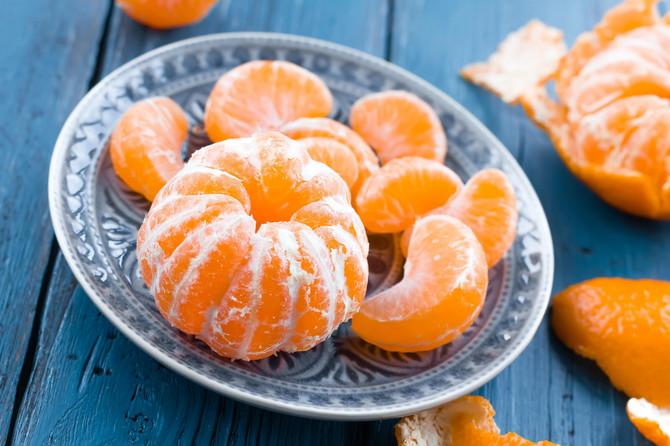Mandarina čuva organizam od raznih bolesti