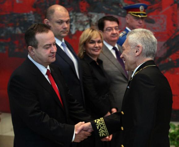 Ivica Dačić i Aleksandar Bocan Harčenko