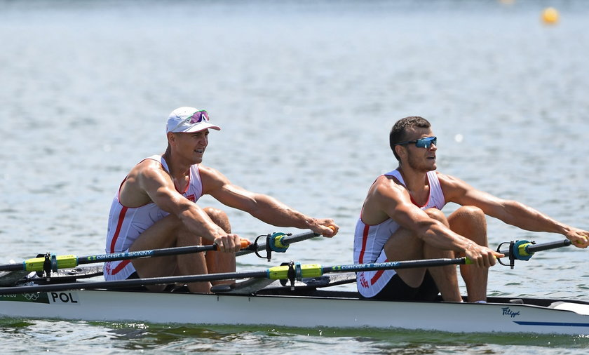 Rowing - Men's Double Sculls - Heats