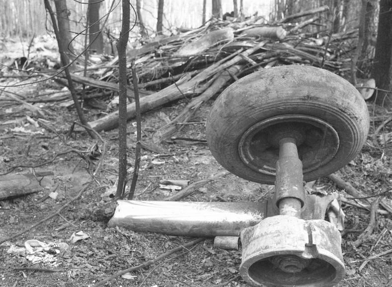 Katastrofa samolotu w Lesie Kabackim