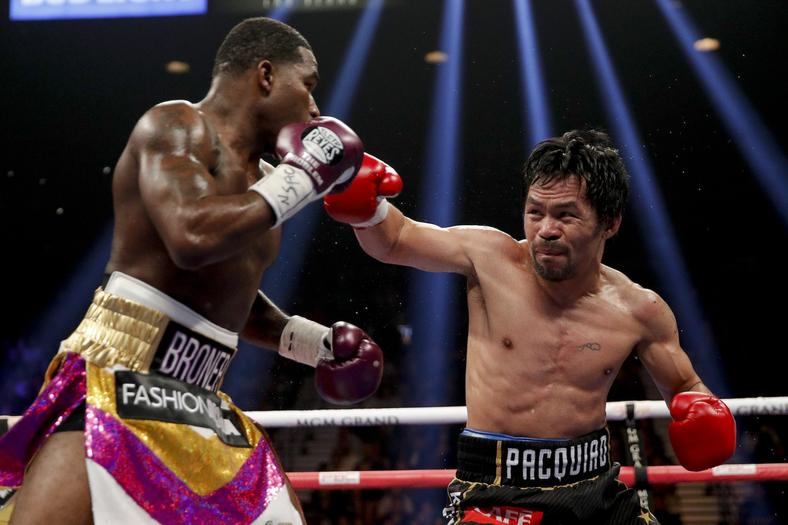 Manny Pacquiao  won by unanimous decision (AFP)