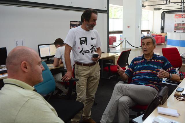 Žarko Varajić u našoj redakciji