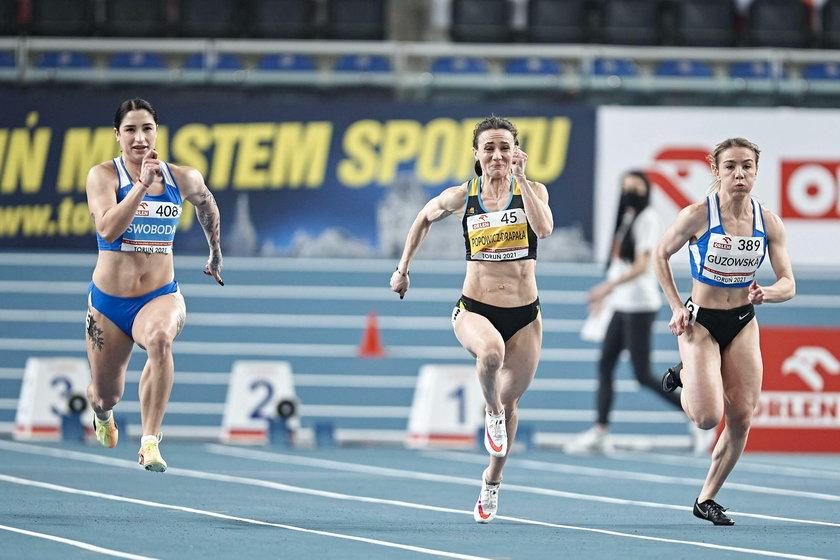 Ewa Swoboda (z lewej) był faworytką sprintu w HME, ale w imprezie nie wystartowała