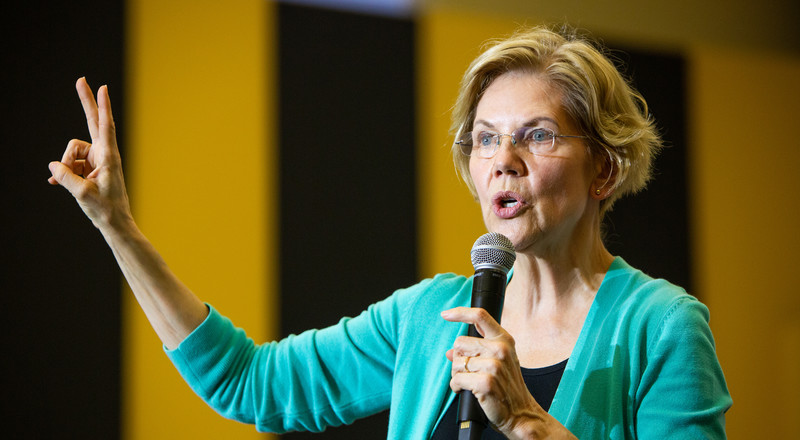 Warren Singles Out Billionaires in New TV Ad