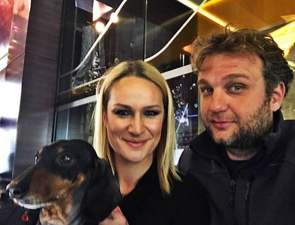 Tamara Grujić sa suprugom