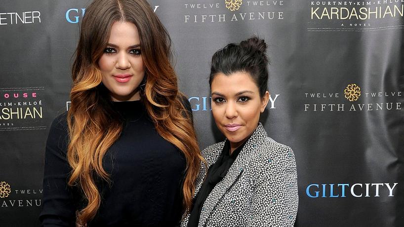 Khloe Kardashian i Kourtney Kardashian
