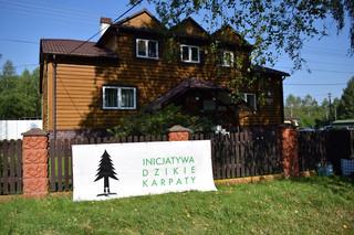 Protest przeciw wycince drzew w Bieszczadach. Aktywiści blokowali siedzibę Nadleśnictwa Stuposiany