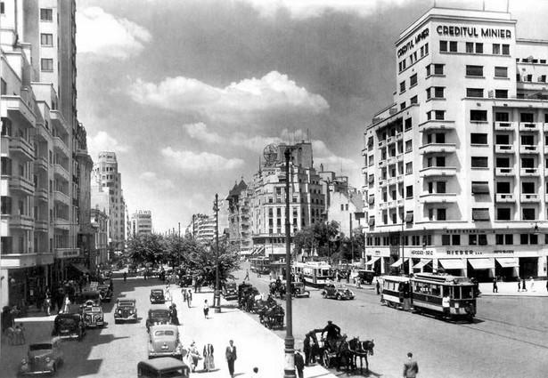 Stołeczny Bukareszt w latach 30. XX wieku