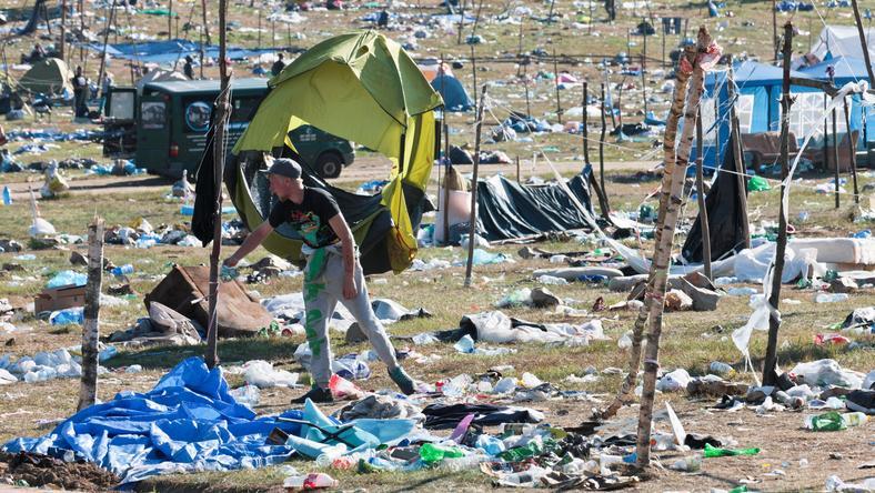 Za nami 23. Przystanek Woodstock. Ruszyło wielkie sprzątanie