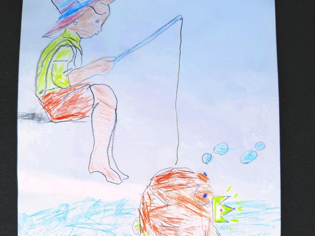 Autor: Maksymilian Burek, 6 lat