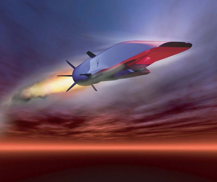 hipersonično oružje letelica