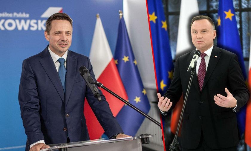 Rafał Trzaskowski: Andrzej Duda stchórzył