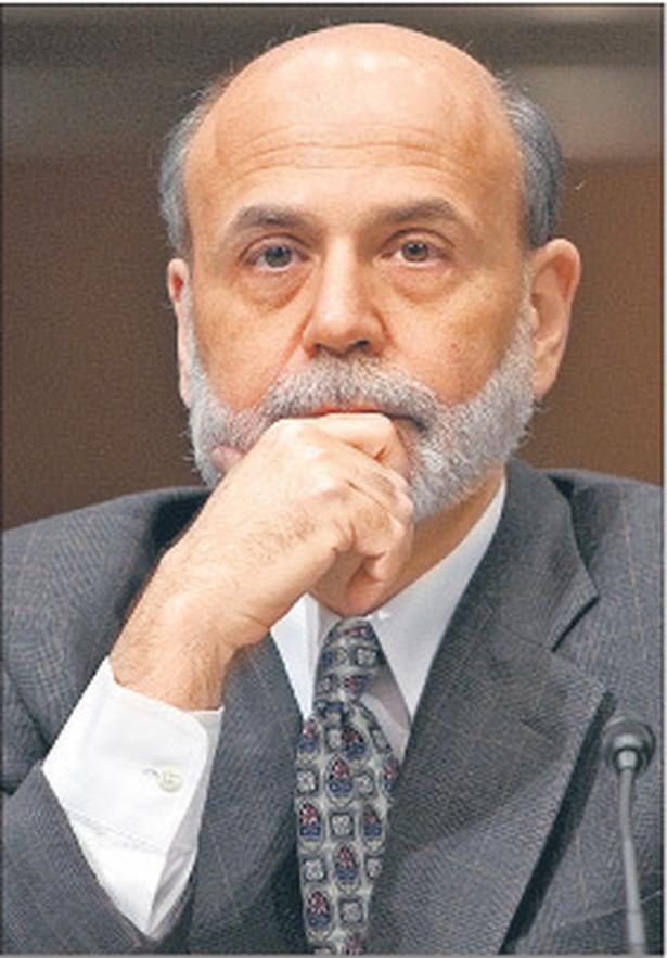 Prezes Fed Ben Bernanke Fot. Bloomberg