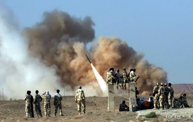 Iran zelzal rakete foto epa strnger