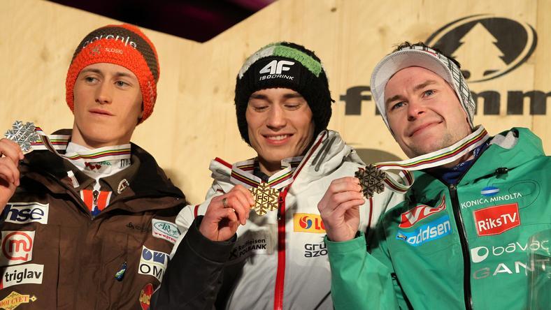 Kamil Stoch ze złotym medalem
