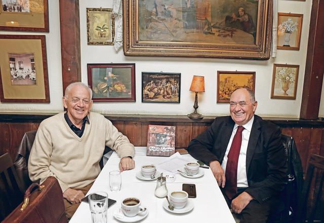 Stari prijatelji, Radoslav-Lale Vujadinović i Dragan Petković