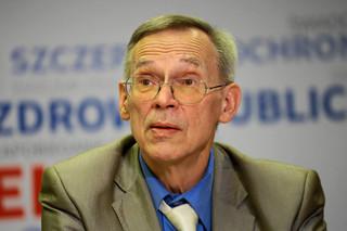 Prof. Gut: Spadek liczby nowych zakażeń może wynikać z okresu świątecznego