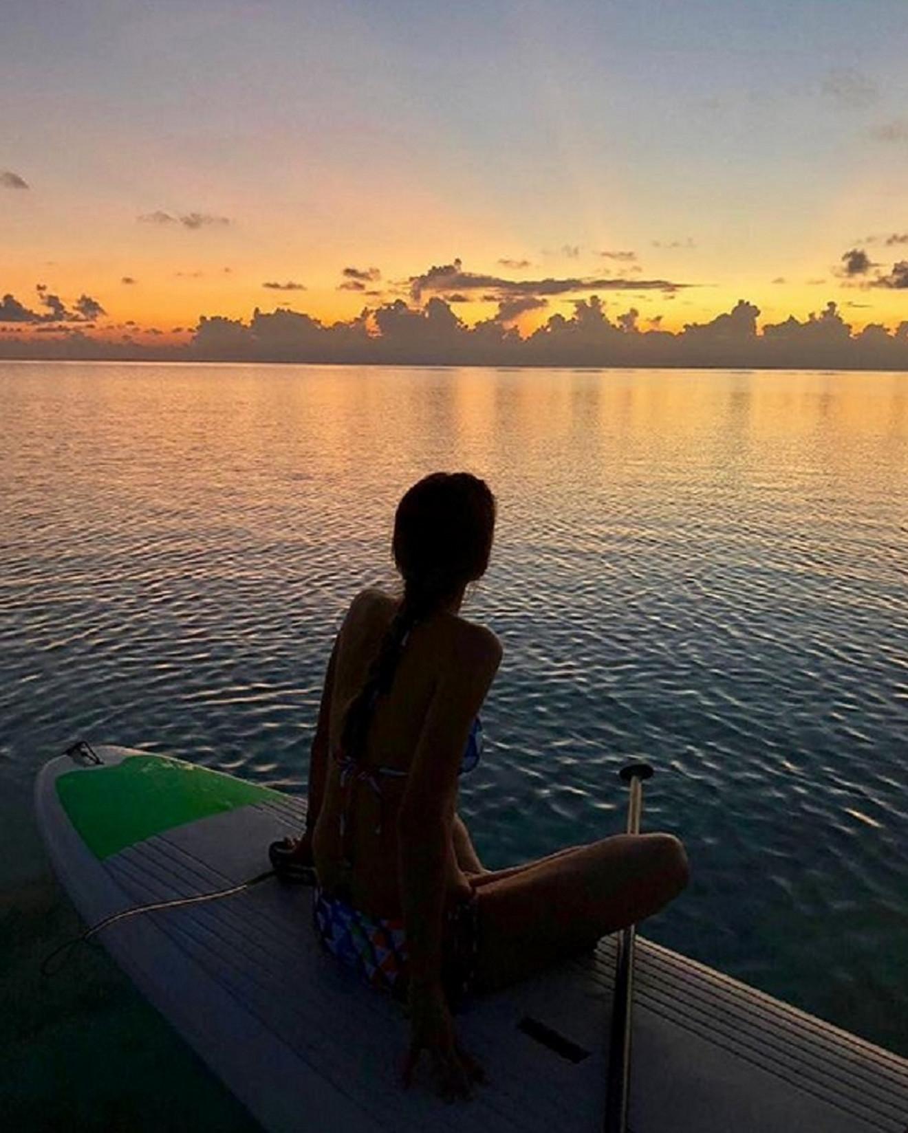Još jedan momenat sa Maldiva
