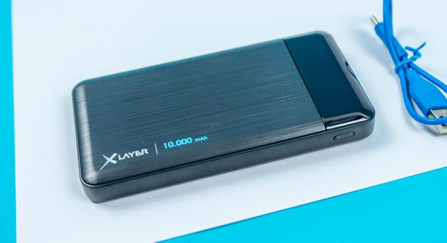 Xlayer X-Charger 10.000 im Test: Powerbank mit Display