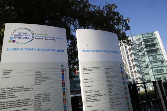 Pariska bolnica u koju je primljen Mihael Šumaher