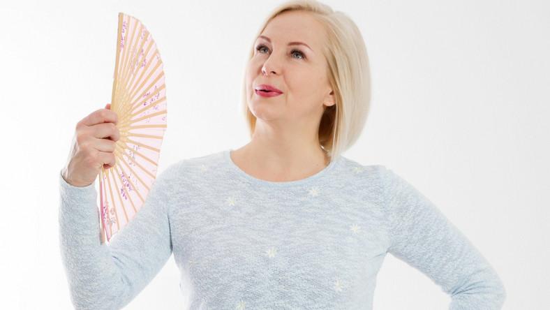 Menopauza, uderzenia gorąca
