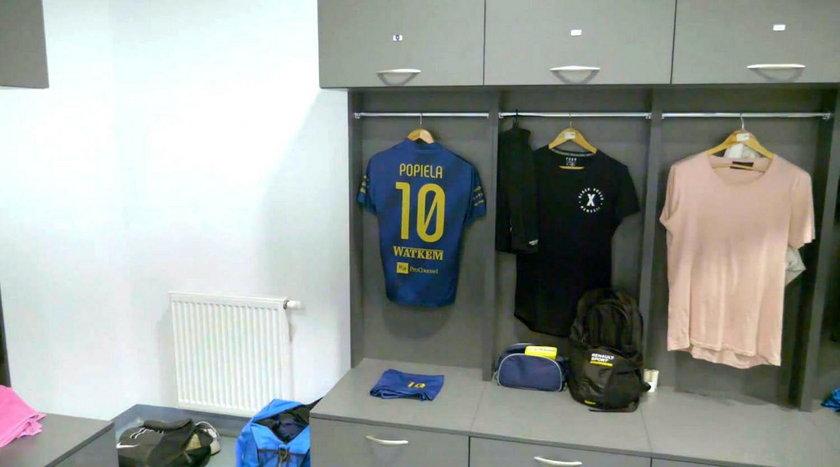 Wzruszające pożegnanie młodego piłkarza