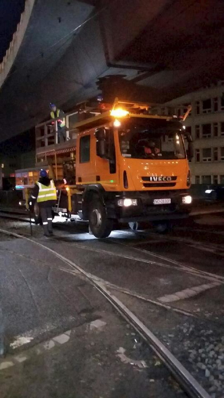 Naprawa awarii sieci trakcyjnej 9 października w Gdańsku