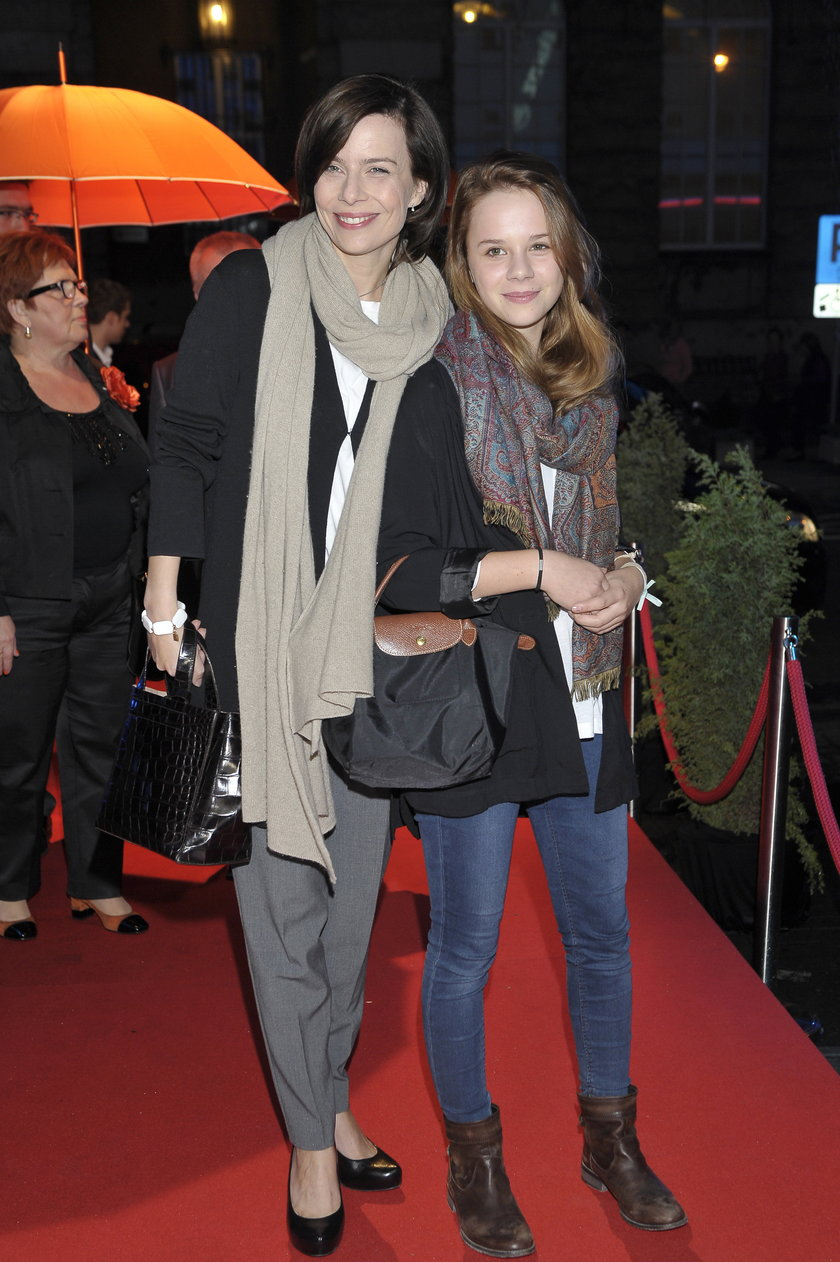 Agata Kulesza z Marianną