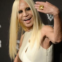 Jak zmieniała się Donatella Versace?