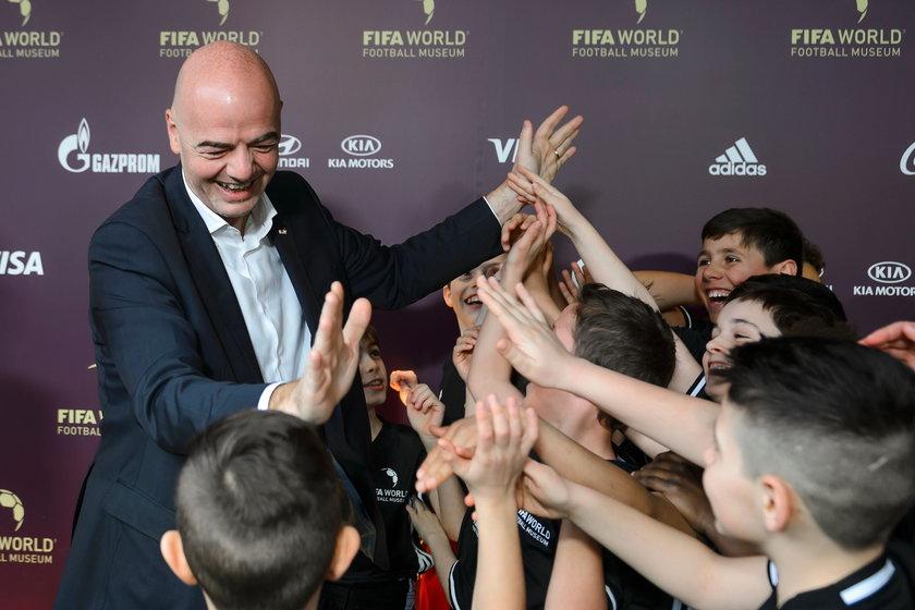 Nieznana tajemnica nowego szefa FIFA. Cudem uniknął śmierci