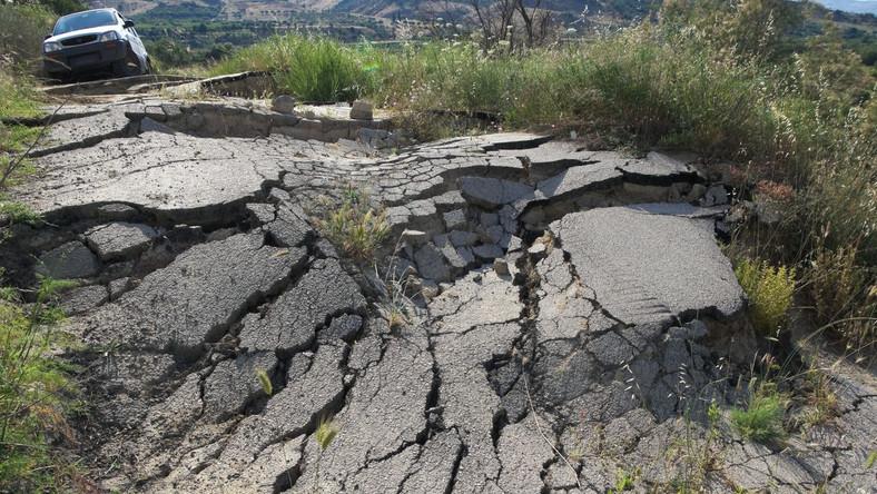 Trzęsienie ziemi (zdjęcie ilustracyjne)