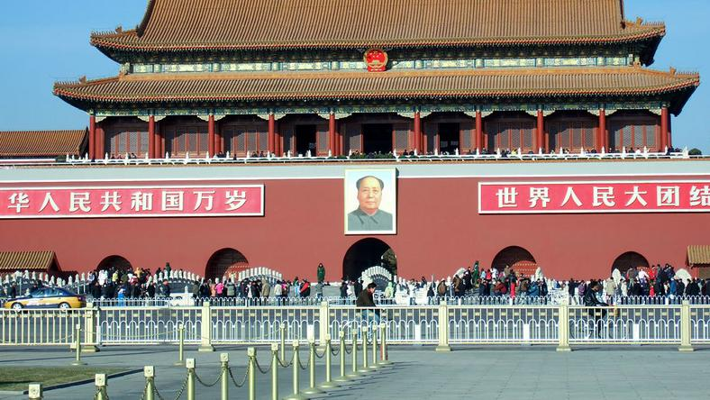 Pekin, brama Tienanmen