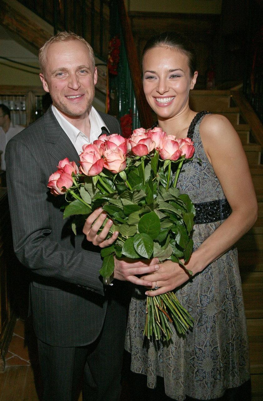 Piotr Adamczyk i Anna Czartoryska