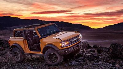 Ford says it saw a 'stampede of reservations' for the new Bronco SUV that crashed its website