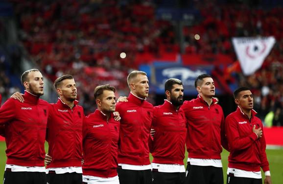 Reprezentativci Albanije odbili da igraju dok im se ne pusti prava himna