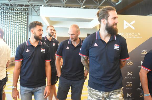 Košarkaška reprezentacija Srbije na početku priprema