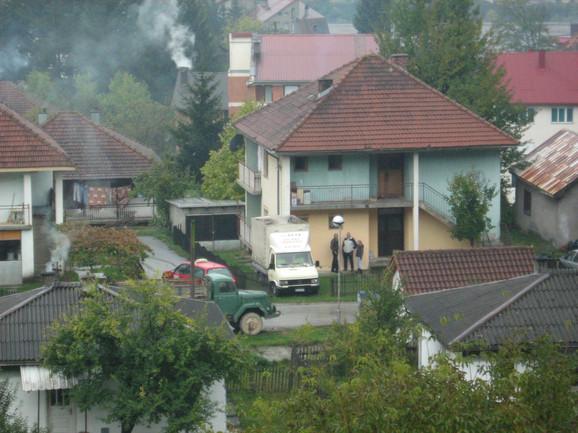 Rodna kuća Miodraga Božovića u Mojkovcu