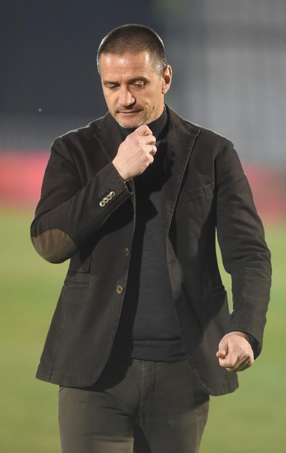 Trener Partizana Zoran Mirković