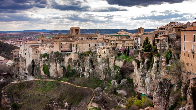 Cuenca- miasto na skale