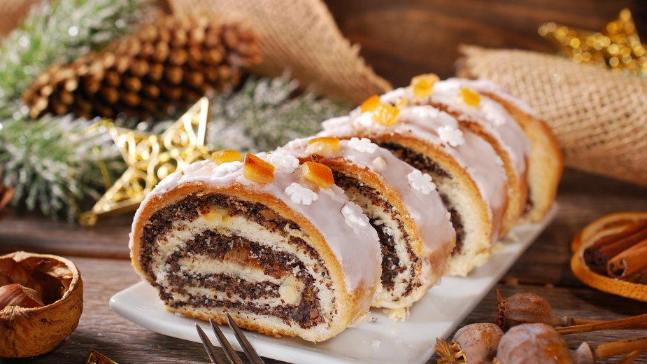 Makowiec to ciasto, którego nie może zabraknąć podczas świąt - teressa/stock.adobe.com