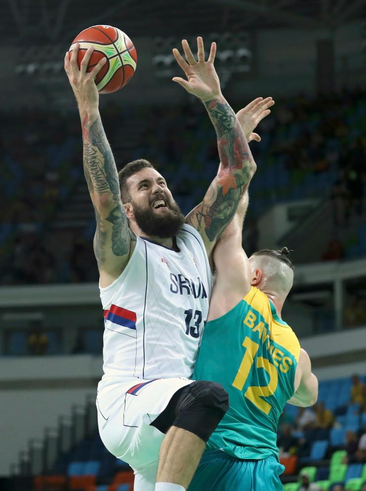 Košarkaška reprezentacija Srbije, Košarkaška reprezentacija Australije