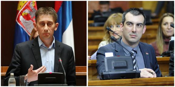 Aleksandar Martinović i Vladimir Orlić